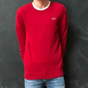 Hollister Red Sweater